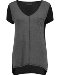 DKNY - Stretch-modal Jersey Pyjama Top - Lyst