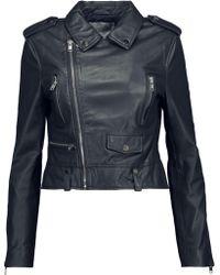 W118 by Walter Baker - Hanna Leather Biker Jacket - Lyst