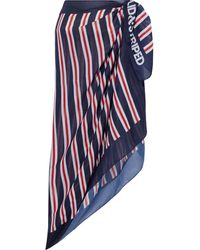 Solid & Striped Striped Voile Pareo - Blue