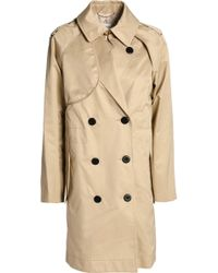COACH Cotton-gabardine Trench Coat - Natural