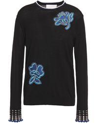 Peter Pilotto Fine Wool Sweater - Black