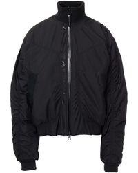 adidas By Stella McCartney Printed Shell Bomber Jacket - Black