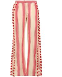 Dodo Bar Or Casual Trousers - Red