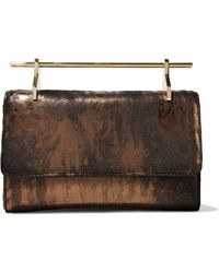 M2malletier - Patent-leather Clutch Bag - Lyst