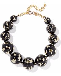 Kenneth Jay Lane - Gold-tone Painted Bead Necklace - Lyst