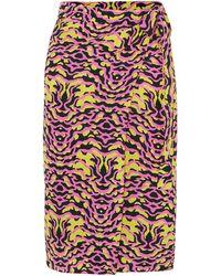 Etro Printed Silk-chiffon Pareo - Pink