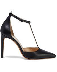 IRO Salome Leather Court Shoes - Black