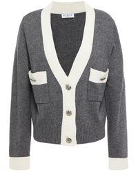 Claudie Pierlot Mini Mélange Knitted Cardigan - Grey
