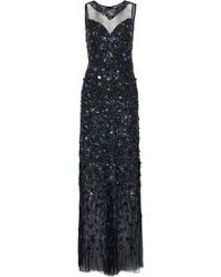 Elie Tahari - Augenie Embellished Tulle Gown - Lyst