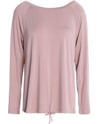 Calvin Klein - Printed Stretch-modal Pyjama Top - Lyst