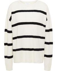 Majestic Filatures Striped Cashmere-blend Jumper - Multicolour