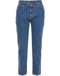 Rodebjer Susan High-rise Straight-leg Jeans - Blue
