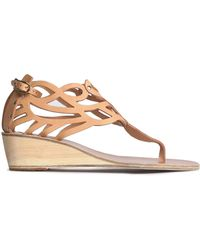 Ancient Greek Sandals - Cutout Leather - Lyst