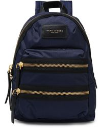 Marc Jacobs - Shell Backpack Navy - Lyst