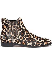 Rebecca Minkoff Leopard-print Calf Hair Ankle Boots Animal Print - Brown