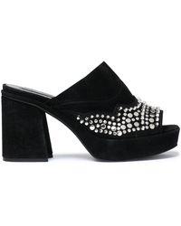 McQ - Suede Sandals - Lyst