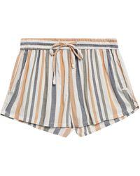 Onia Aleen Jacquard Shorts Neutral - Multicolor