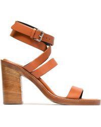 Ann Demeulemeester - Leather Sandals - Lyst