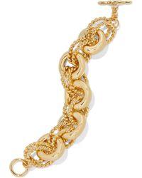 Kenneth Jay Lane - Gold-plated Bracelet Gold - Lyst
