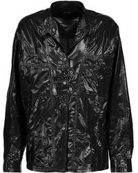 Isabel Marant - Nancy Silk-blend Lamé Shirt - Lyst