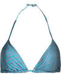 Orlebar Brown - Printed Triangle Bikini Top - Lyst