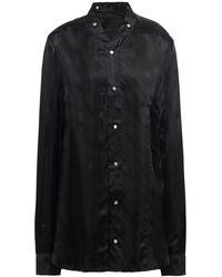 Rick Owens - Cupro-satin Shirt - Lyst