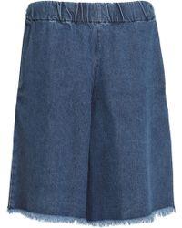 Marques'Almeida - Frayed Denim Shorts - Lyst