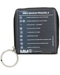MM6 by Maison Martin Margiela Printed Faux Leather Wallet - Multicolour