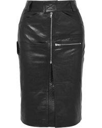 Vetements - Leather Skirt - Lyst