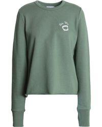 Zoe Karssen - Embroidered Cotton-jersey Track Pants - Lyst