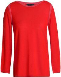 Vanessa Seward - Wool And Silk-blend Sweater Coral - Lyst