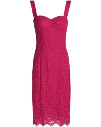 Dolce & Gabbana - Corded Lace Dress - Lyst