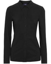 Fusalp Stretch-knit Shirt - Black