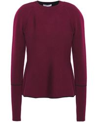 CASASOLA Knitted Sweater - Purple