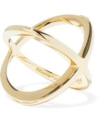 Elizabeth and James - Woman Gold-tone Ring Gold - Lyst
