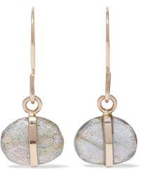 Melissa Joy Manning - 14-karat Gold Labradorite Earrings - Lyst