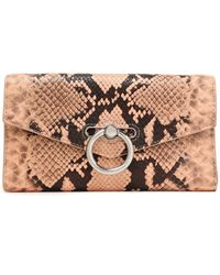 Rebecca Minkoff Snake-effect Leather Continental Wallet Animal Print - Multicolour