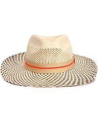 Yosuzi Aleza Toquilla Straw Panama Hat Ecru - Multicolor