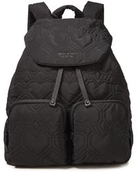 Kate Spade Quilted Shell Backpack Black