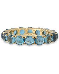 Ippolita - 18-karat Gold Peridot Ring Sky Blue - Lyst