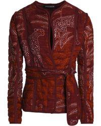 Antik Batik Jacket - Red