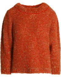 Sonia Rykiel - Mélange Mohair-blend Bouclé Sweater - Lyst