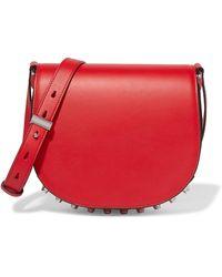 Alexander Wang Lia Leather Shoulder Bag - Red