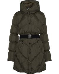 W118 by Walter Baker - Vera Quilted Shell Jacket Army Green - Lyst