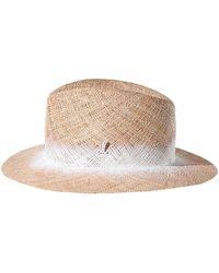 Muhlbauer Natural Bao Straw Graf Traveler Hat