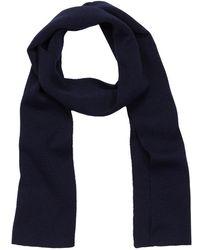 Armor Lux - Blue Wool Scarf - Lyst