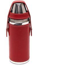 Ettinger Red Sterling 8oz Flask