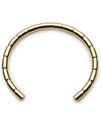 Alice Made This - Lapworth Barrelled Brass Bracelet - Lyst