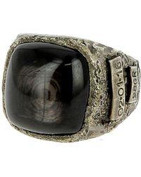 Tobias Wistisen - Black Stone Ring - Lyst