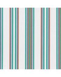 Thomas Mason Green And White Cotton Langham Shirting Fabric - Multicolor